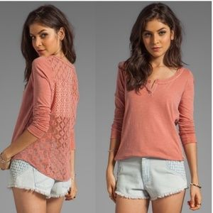 NWT Patches of Lace Henley